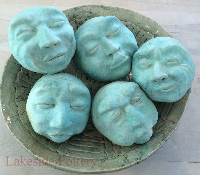 clay face sculpting easy project | Pots in 2019 | Easy ...