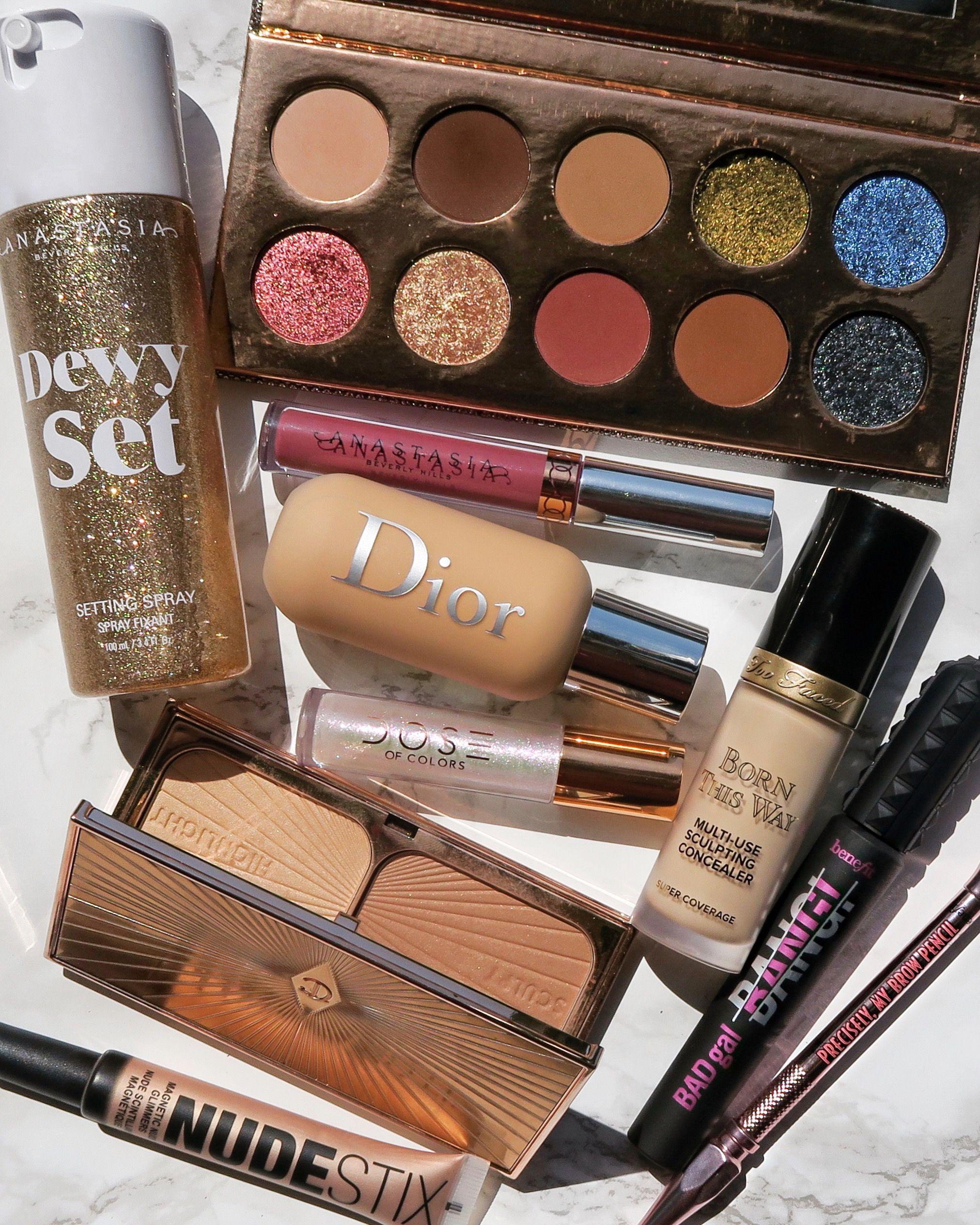 makeup beauty glitter eyeshadowpalette doseofcolors
