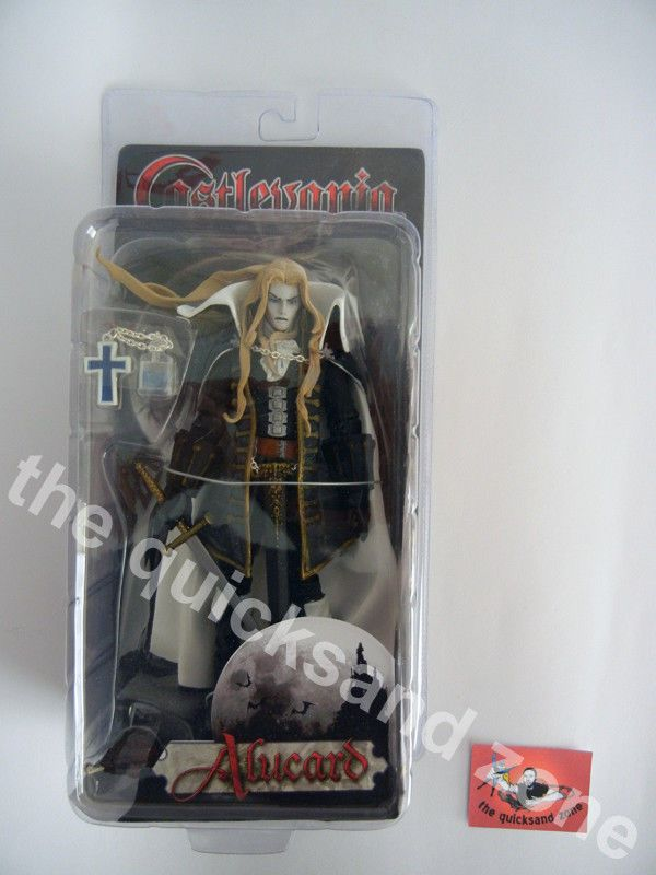 2007 NECA - Castlevania - Alucard - NEW/FACTORY SEALED/VERY RARE/HARD TO FIND!