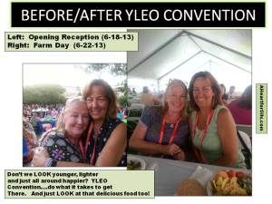 BEFORE and after Convention Essential Oils for YOUTH!