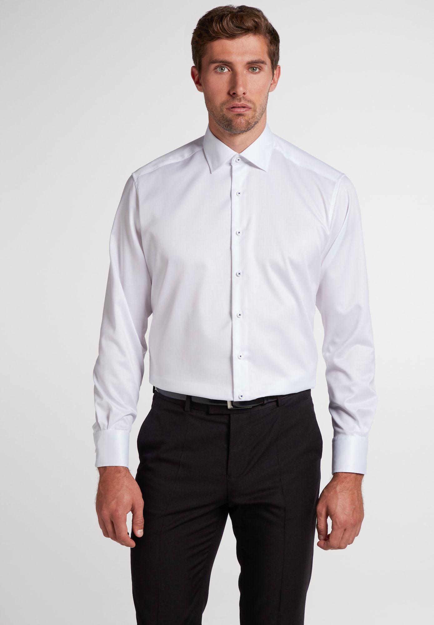 Eterna Hemd Herren Weiss Grosse 48 Hemd Eterna Hemden Hemdkragen