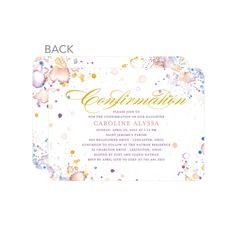 discounted confirmation party invitations religious invitations