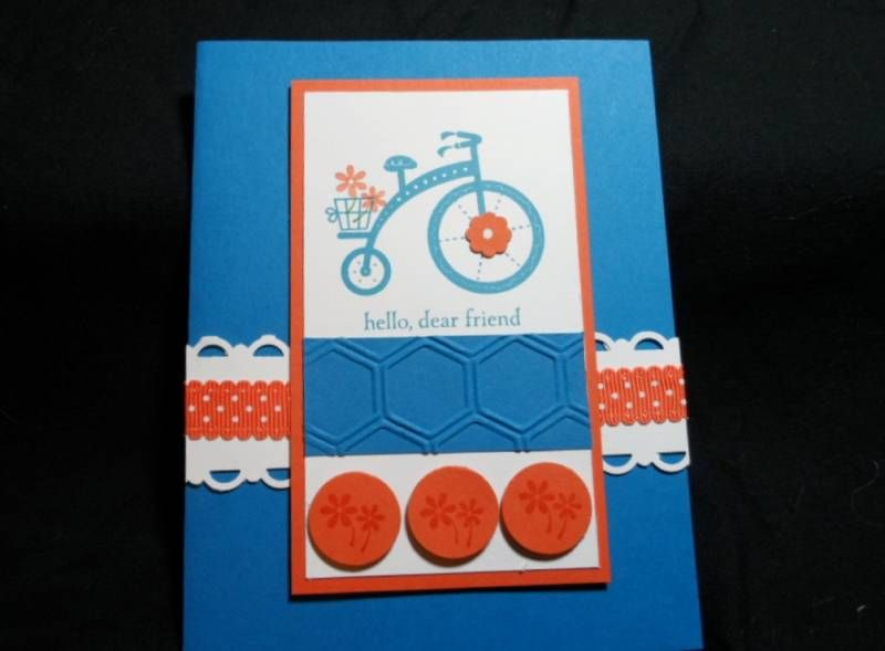 Hello, Dear Friend (CASE) by lisacurcio2001 - Cards and Paper Crafts at Splitcoaststampers