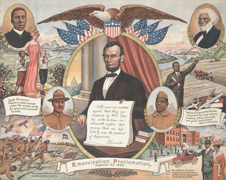 Emancipation Proclamation by E. G. Renesch, 1919