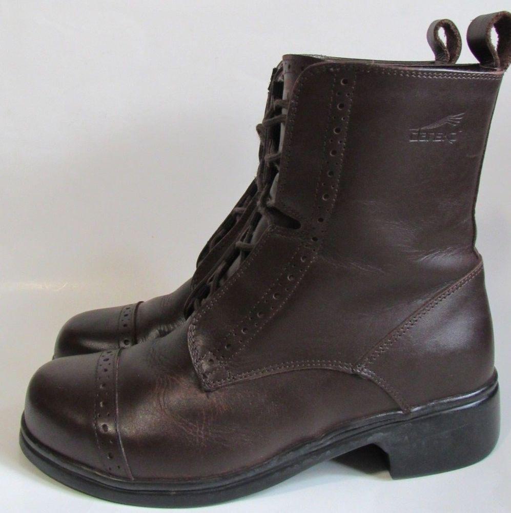 Dansko Belise Lace Up Boots 37 US 6.5