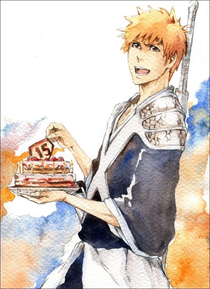 Bleach - Ichigo Kurosaki   ~×>♘B L E A C H♚<×~   Pinterest ...
