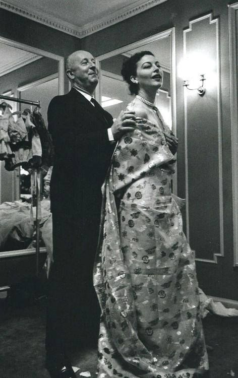 Mr. Dior helped design Ava Gardner s costumes for the film The Little Hut ( 1957) 455c417ac50