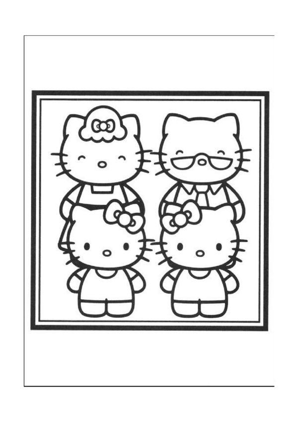 Ausmalbilder Hello Kitty 12