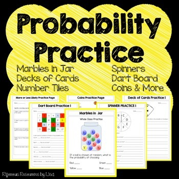 This product will help your students master many different types of probability problems.