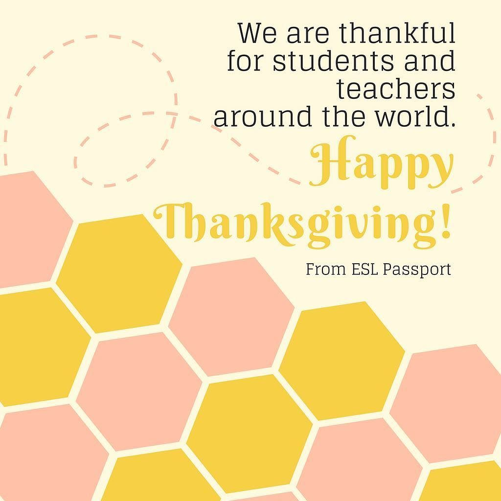 Happy thanksgiving teachers and students thanksgiving