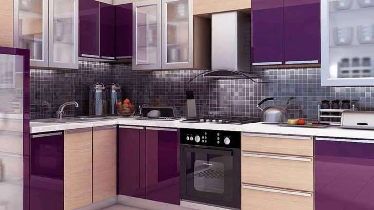 10+ Exceptional Indian Modular Kitchen Color Combination ...