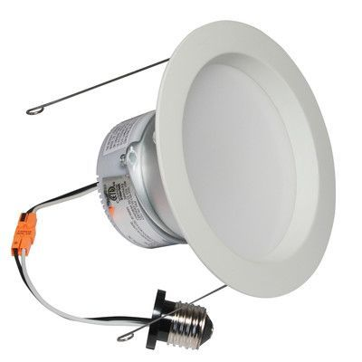 American Lighting Llc E Pro 6 Led Recessed Trim Finish White Bulb 2700 K 10 W Led Products Lighting Recessed Light Bulbs Recessed Can Lights