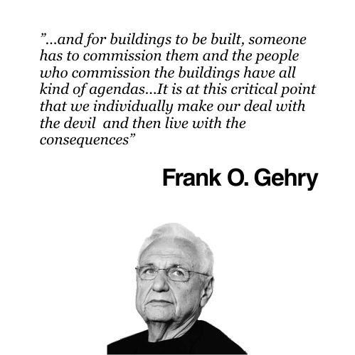 Architecture Quotes Amazing Frank Gehry 3d Design