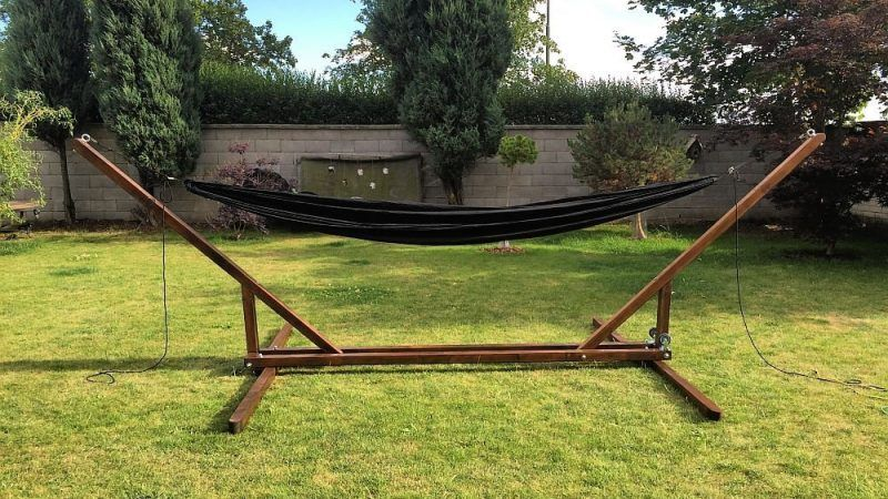 4 great diy portable hammock stand plans for camping