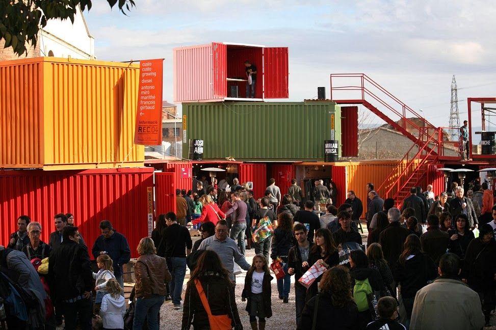 Container SA: Shopping com Container é Sucesso na Certa!