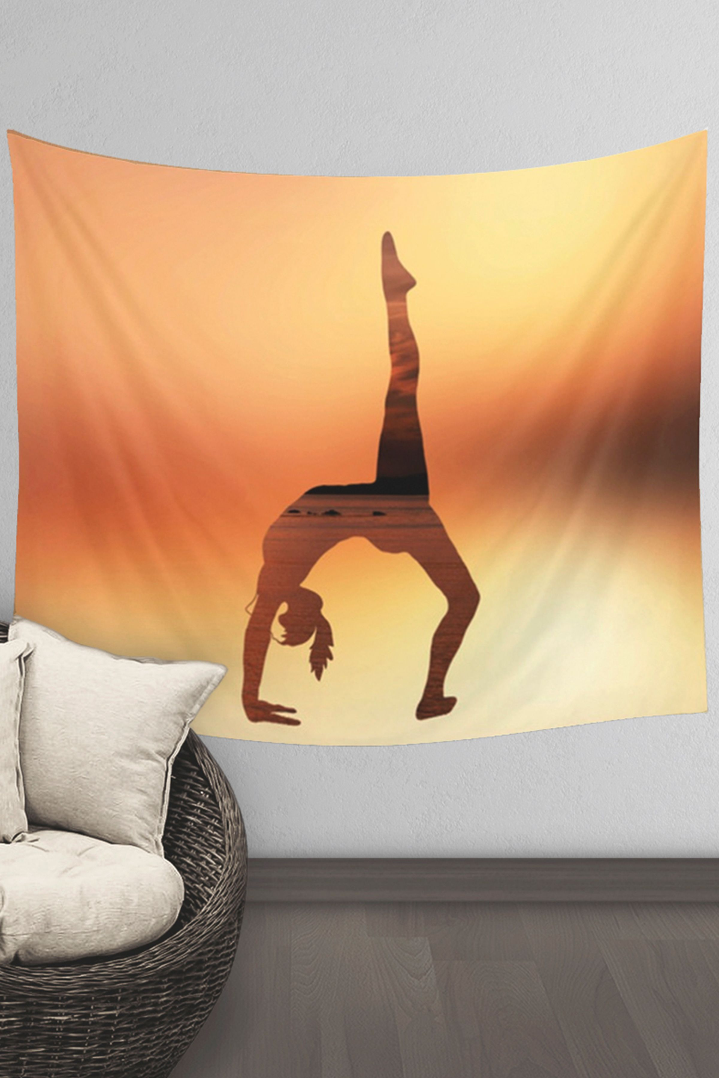 Yoga Wall Tapestry | Meditation Wall Tapestry | Yoga Studio Decor ...