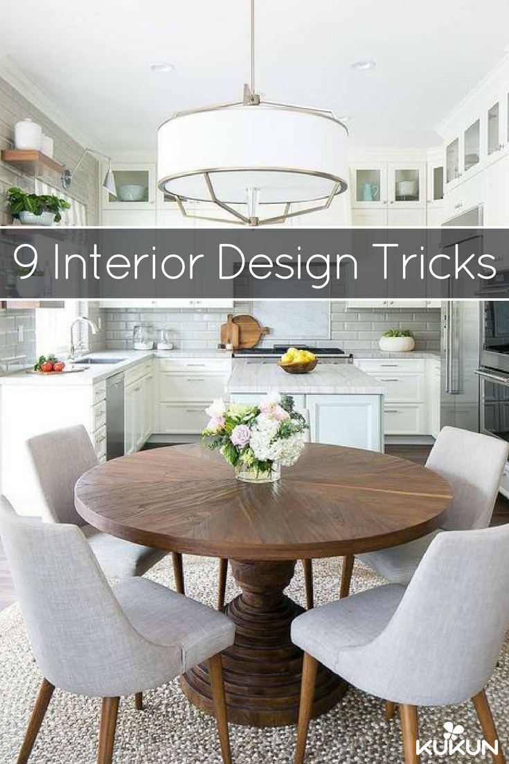 Top 9 Secrets Your Interior Designer Will Never Tell You Round Dining Room Table Decor Dining Table In Kitchen Round Dining Room Table