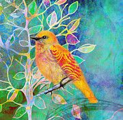 Treetops Art Print by Robin Mead