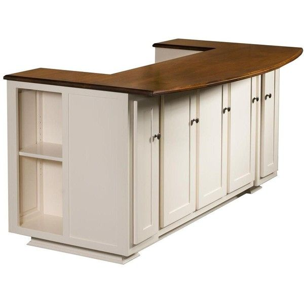 Amish Newbury Kitchen Island (2,290 CAD) ❤ liked on Polyvore featuring home, furniture, storage & shelves, sideboards, home storage furniture, amish furniture, spice shelves, spice shelf and storage shelves