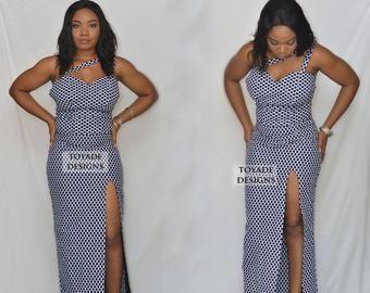 Afrikanische Kleidung für Frauen, afrikanische Kleid für Frau, afrikanischen Druck Ballkleid, afrikanische Hochzeitskleid, afrikanische Kleidung für Frau plus Größe