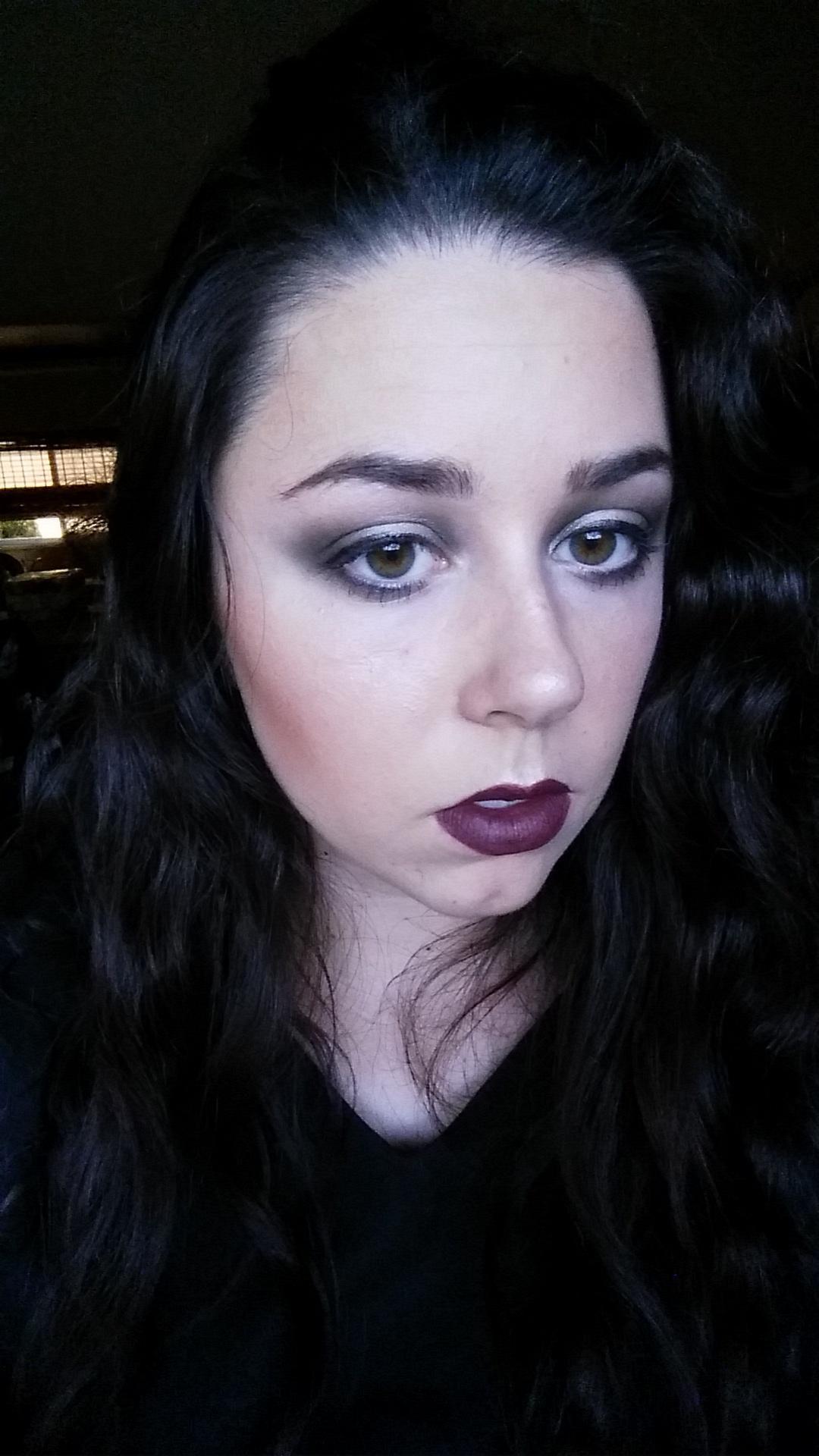 Opera gala makeup look