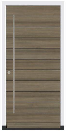 Door type CE 202H Anteak – Modern icon – Wooden front doors -…