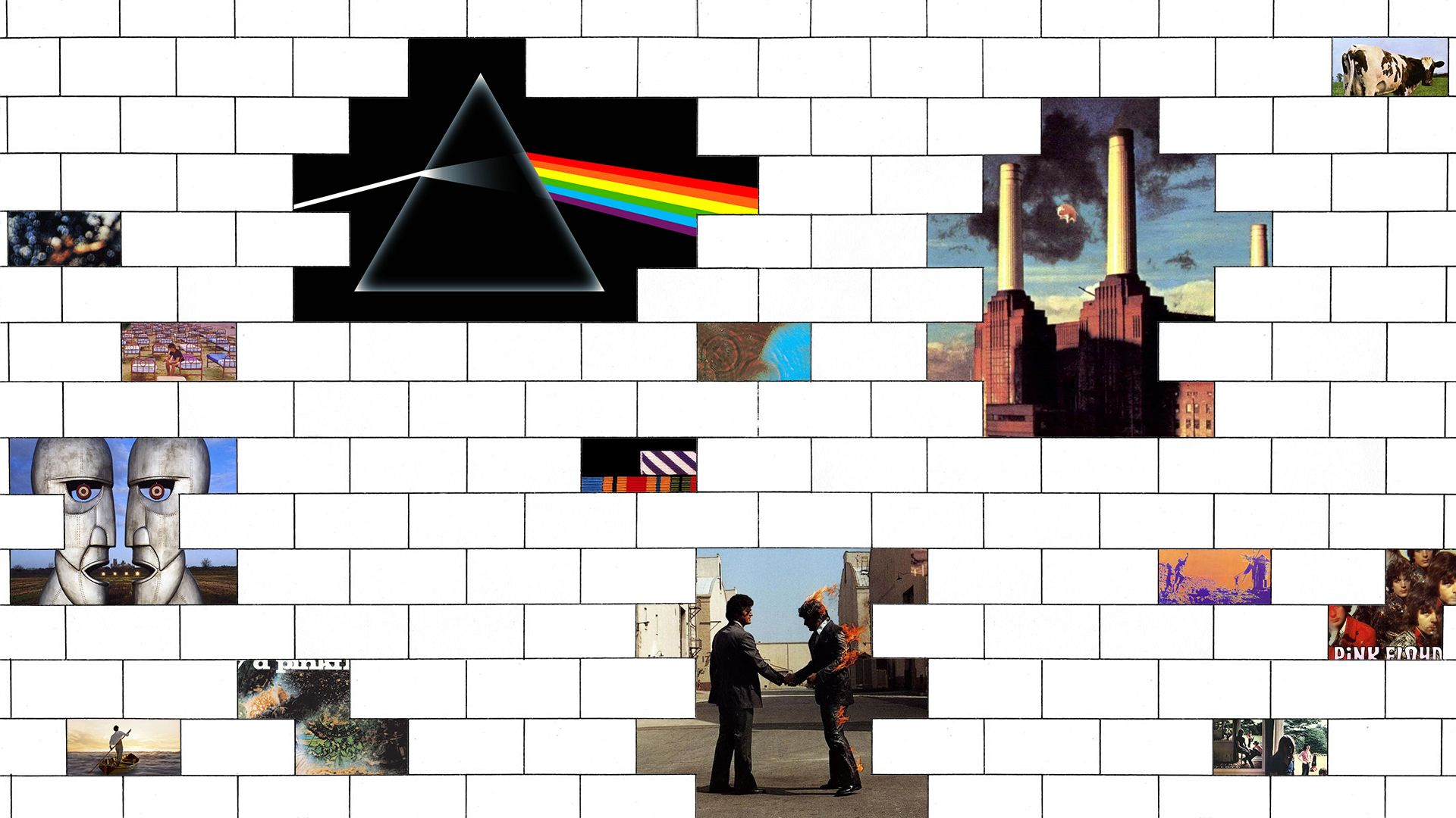 Selfmade Pink Floyd wallpaper [1920x1080] Fondos
