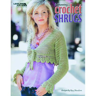 Leisure Arts Crochet Shrugs by Kay Meadows | libri | Pinterest