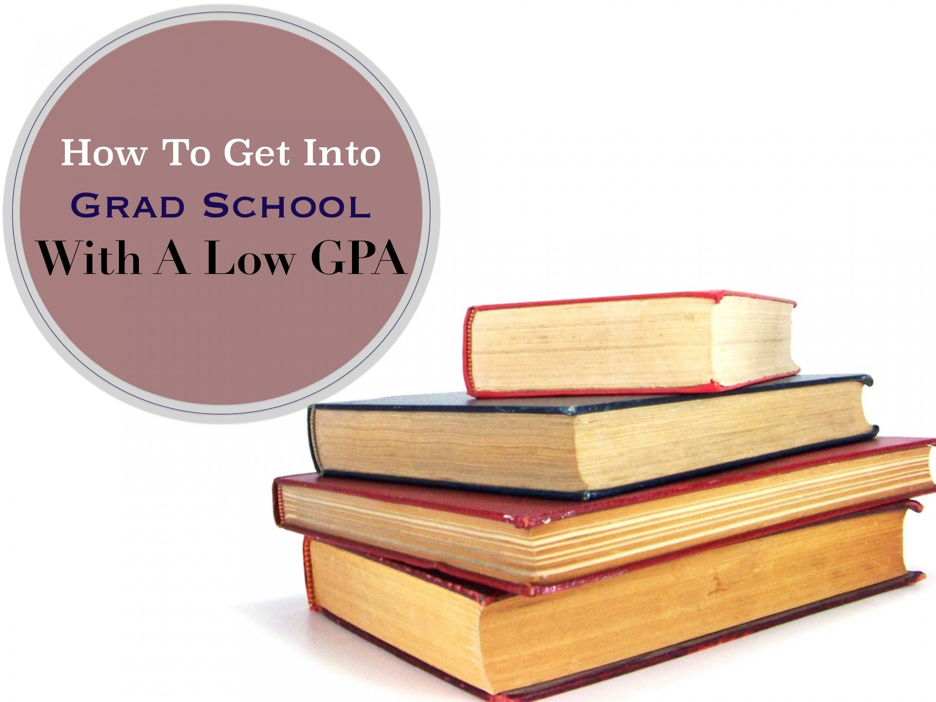 10 Tips on how to get into graduate school with a low GPA
