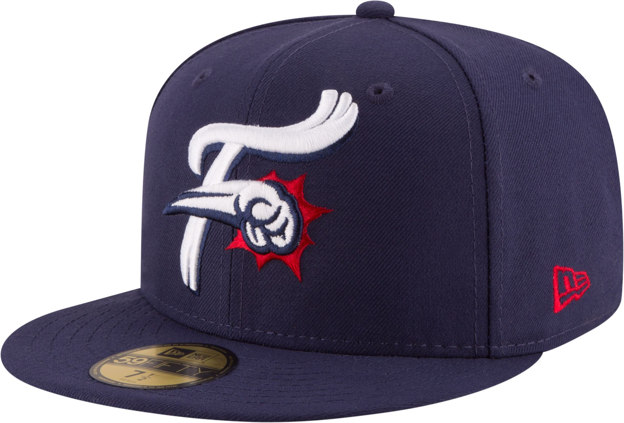 4d822bd0551 New Era Men s Reading Fightin Phils 59Fifty Navy Authentic Hat ...