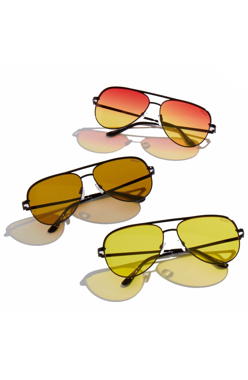 c2a7d05f90 Quay Australia x Desi Perkins  Sahara  60mm Aviator Sunglasses ...