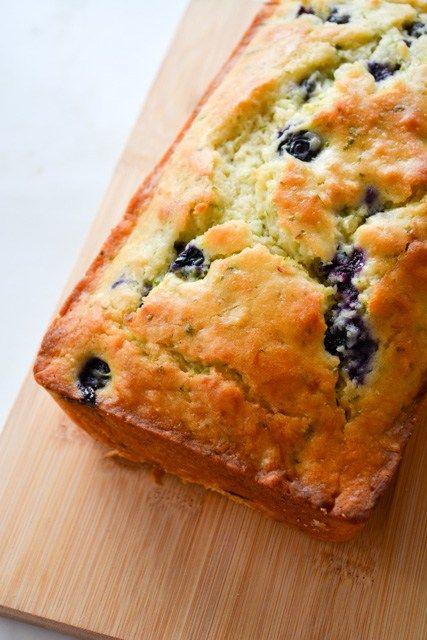 blueberry buttermilk zucchini bread  recipe  zucchini