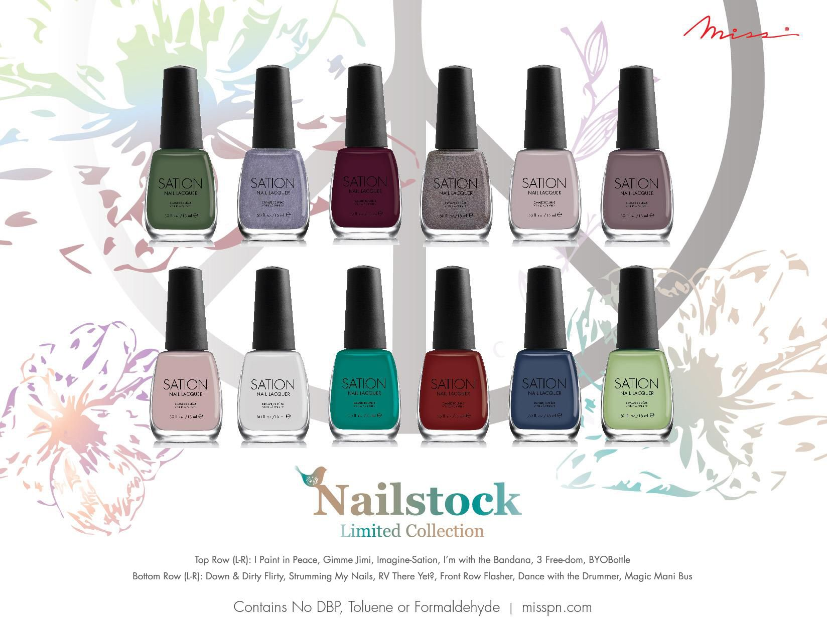 Miss Professional Nail's Limited III Collection
