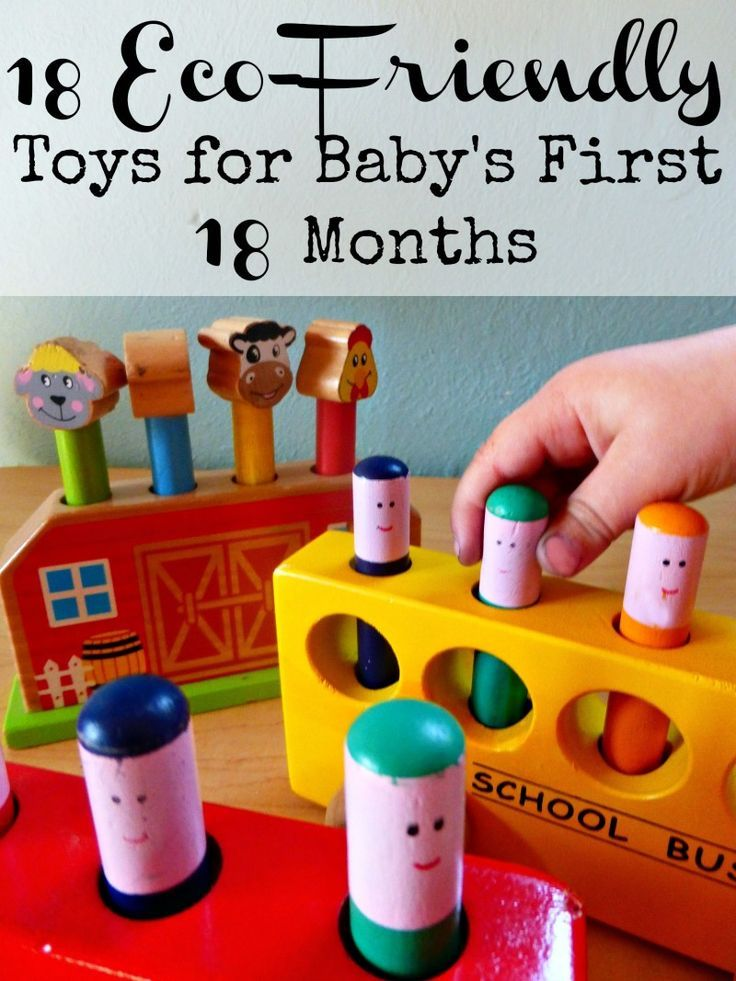 18 Eco-Friendly Toys for Babys First 18 Months