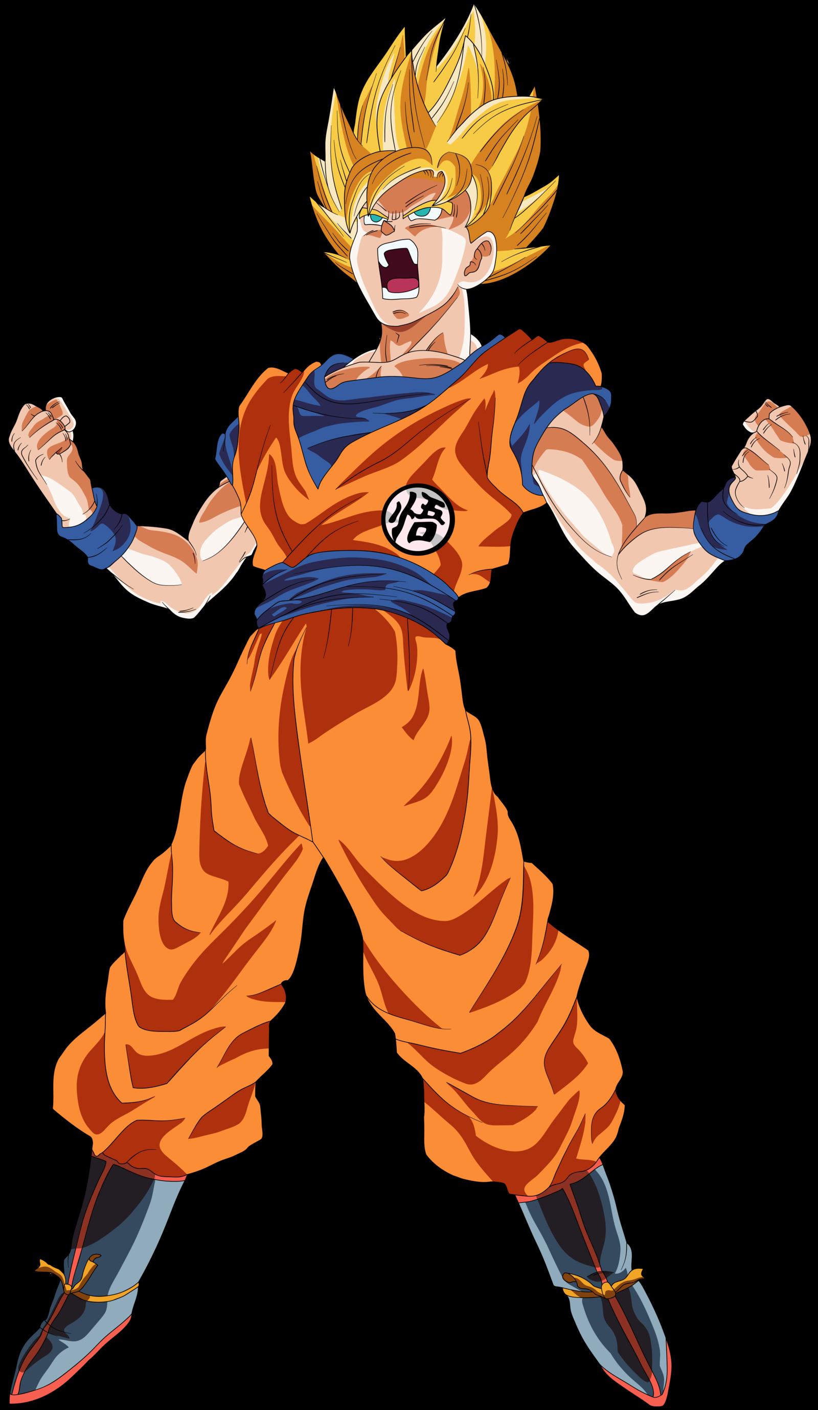 Pin by inoyamanaka2017 on son goku dbz dragon ball goku super saiyan - Goku super sayen ...