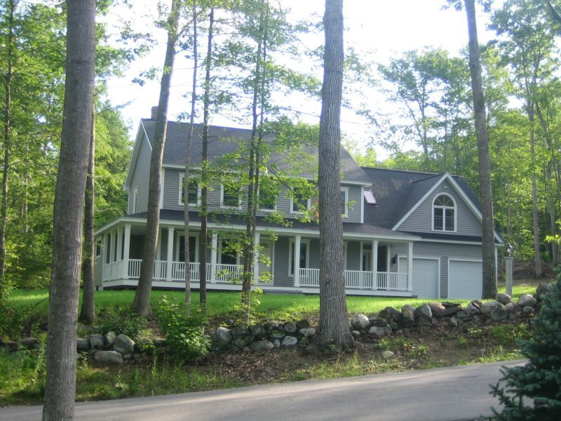 Colonial with Farmers Porch Nicely priced custom Colonial home