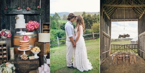 Spring Country Wedding Ideas