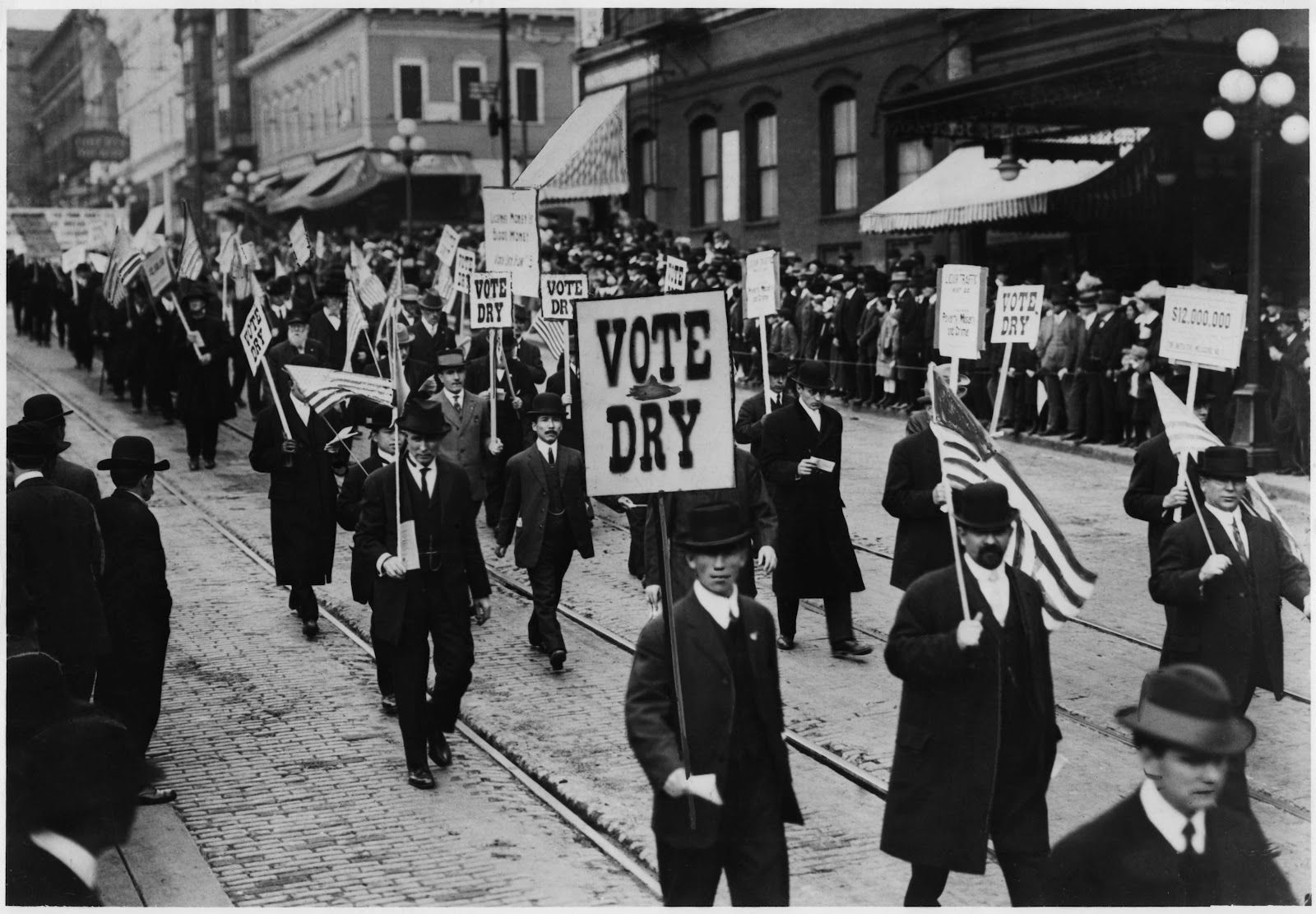 Vote Dry Campaign | The Temperance Movement and ...