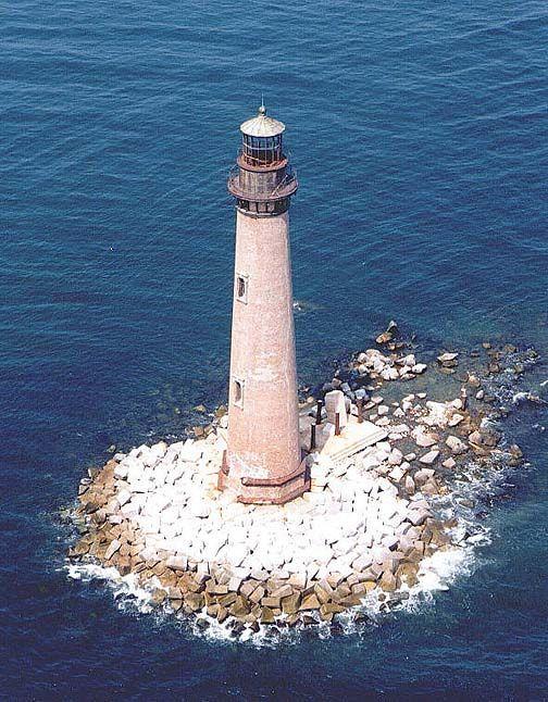 Sand Island Lighthouse Dauphin Alabama