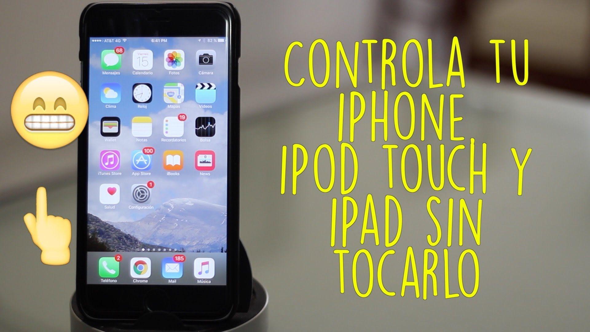 Truco | Controla tu iPhone sin Tocarlo (Sin Instalar Nada) - YouTube