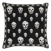 Cushion from Alexander McQueen/The Rug Company - Skull Black