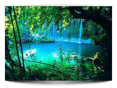 VLIES FOTOTAPETE Wasserfall 250x175 TAPETE TAPETEN Schlafzimmer - tapeten für schlafzimmer bilder