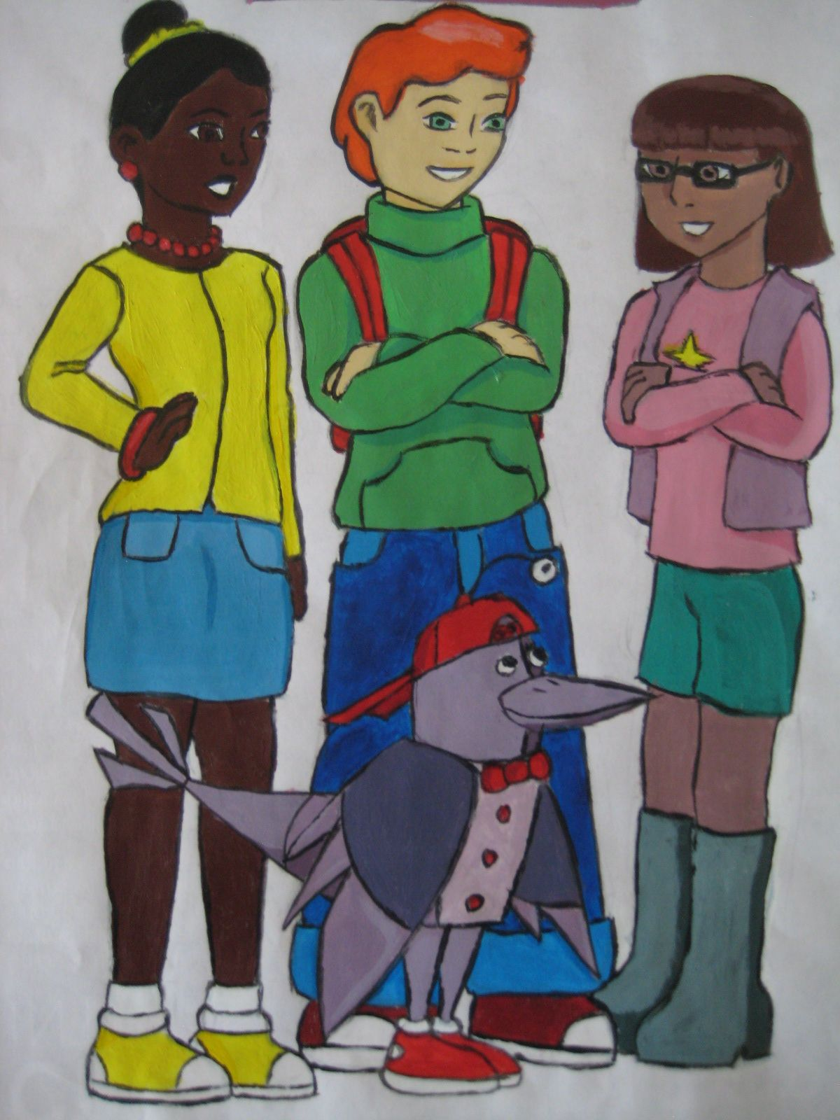 Jackie Matt Inez And Digit Cyberchase Pinterest Disney