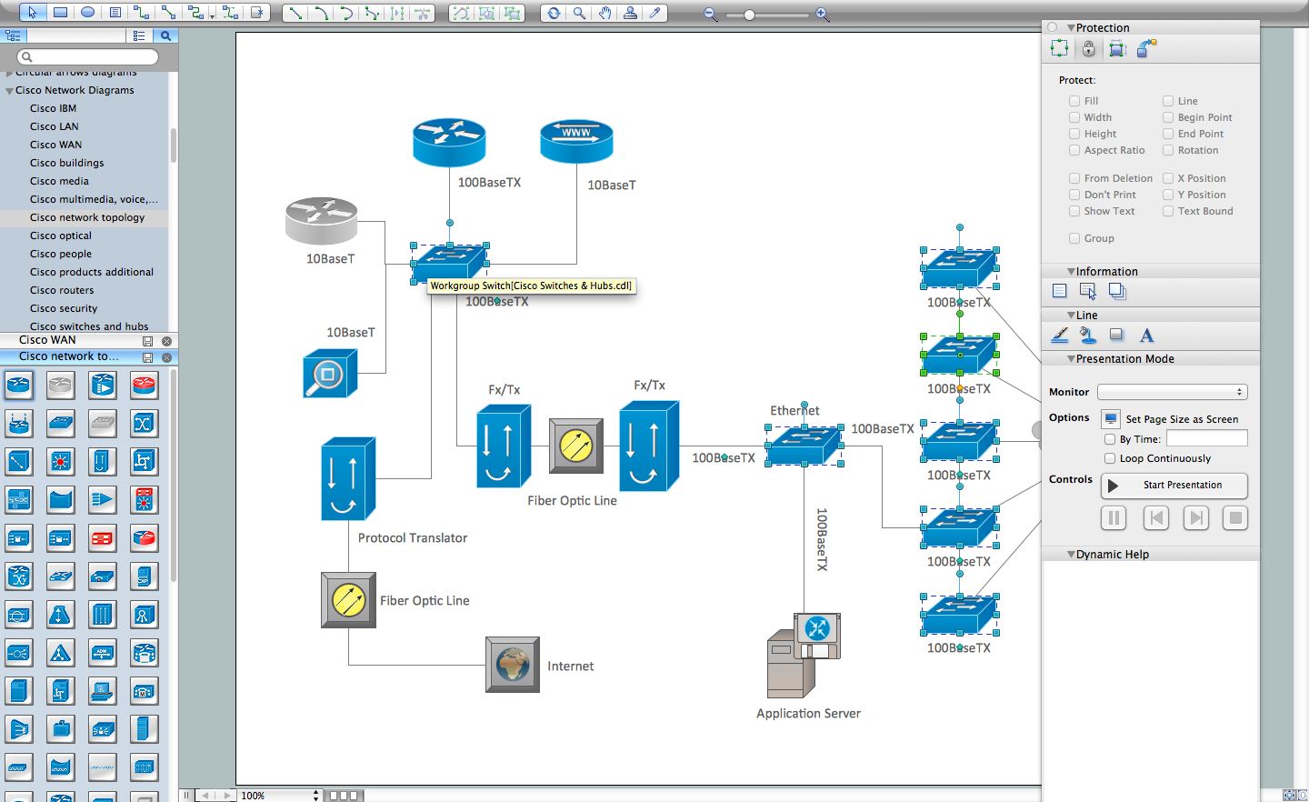 Cisco Design Cisco Network Design Software Architecture Design Diagram Online Tool Design