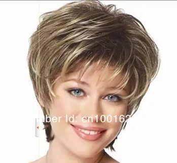 короткие стрижки для женщин после 40 лет фото для круглого ...