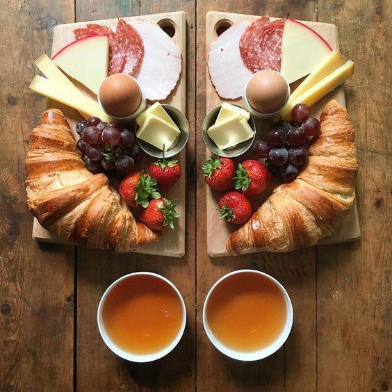 Haferflocken zum Abnehmen des kontinentalen Frühstücks