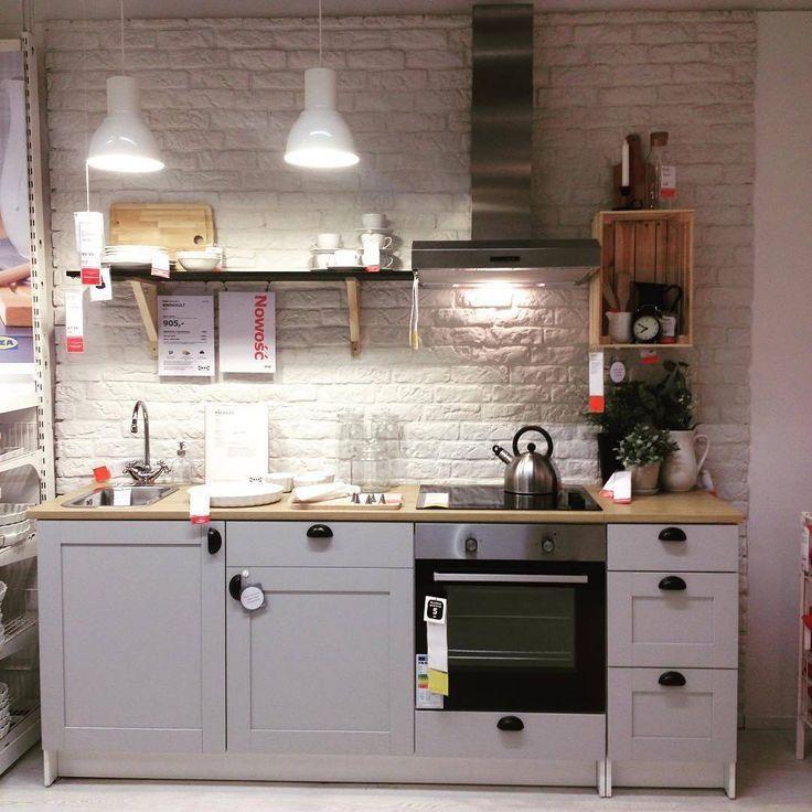 Vorteilhaftes Angebot! Küche IKEA knoxhult in grau … (mit