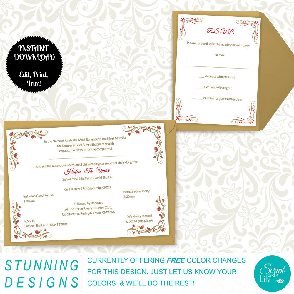 Pages Invitation Templates Free Latest Addition To My #etsy Shop Asian Wedding Invitation Template .