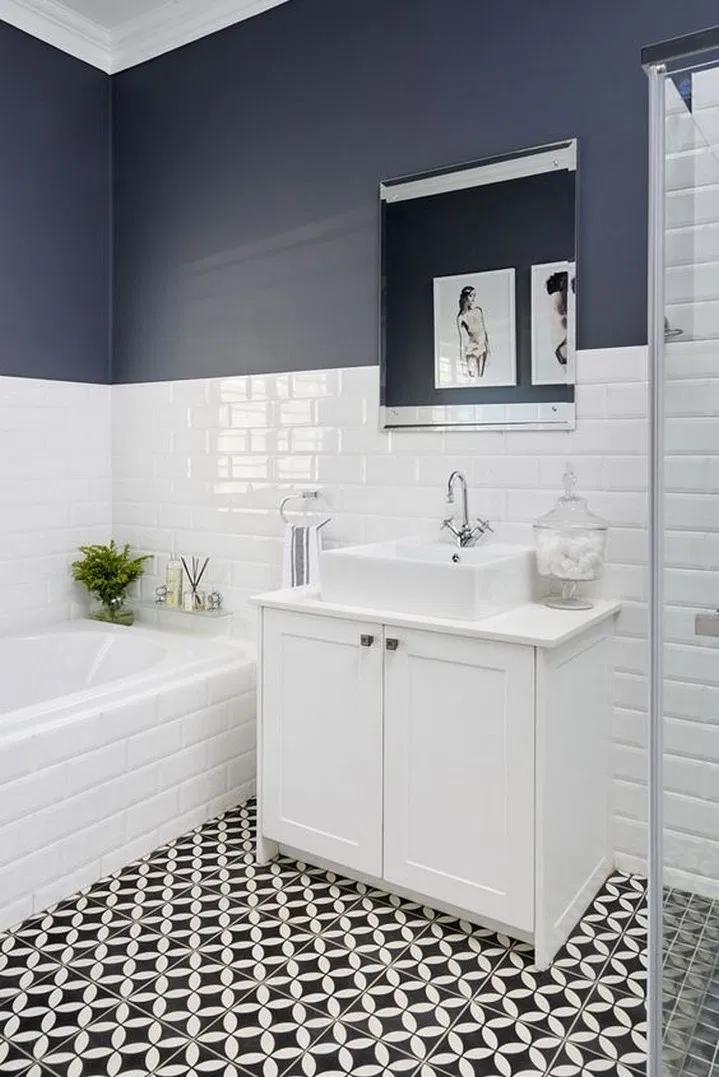 Photo of ❤9 Badezimmer Ideen, warum ein klassisches Schwarz-Weiß-Schema immer ein Gewinner ist 2 – New Ideas