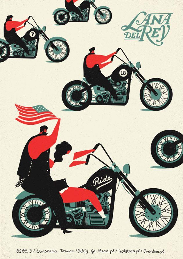 Dawid Ryski: Portadas ilustradas con gusto vintage
